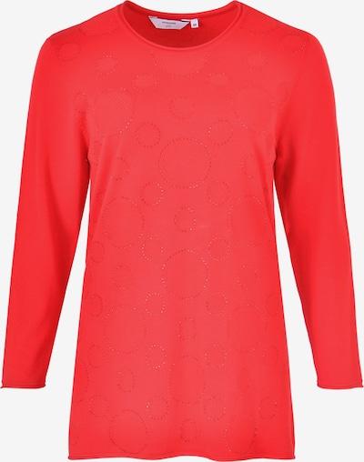 Navigazione 'Strass' Pullover in rot, Produktansicht