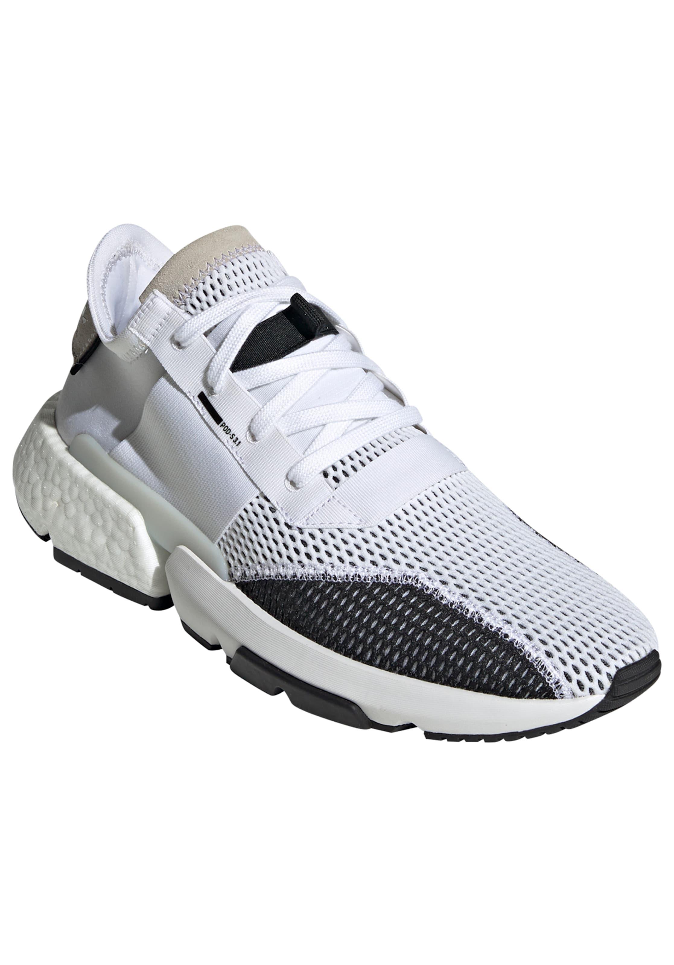 BeigeSchwarz Sneaker Adidas s3 Weiß Originals 'pod 1' In H9E2DWIY