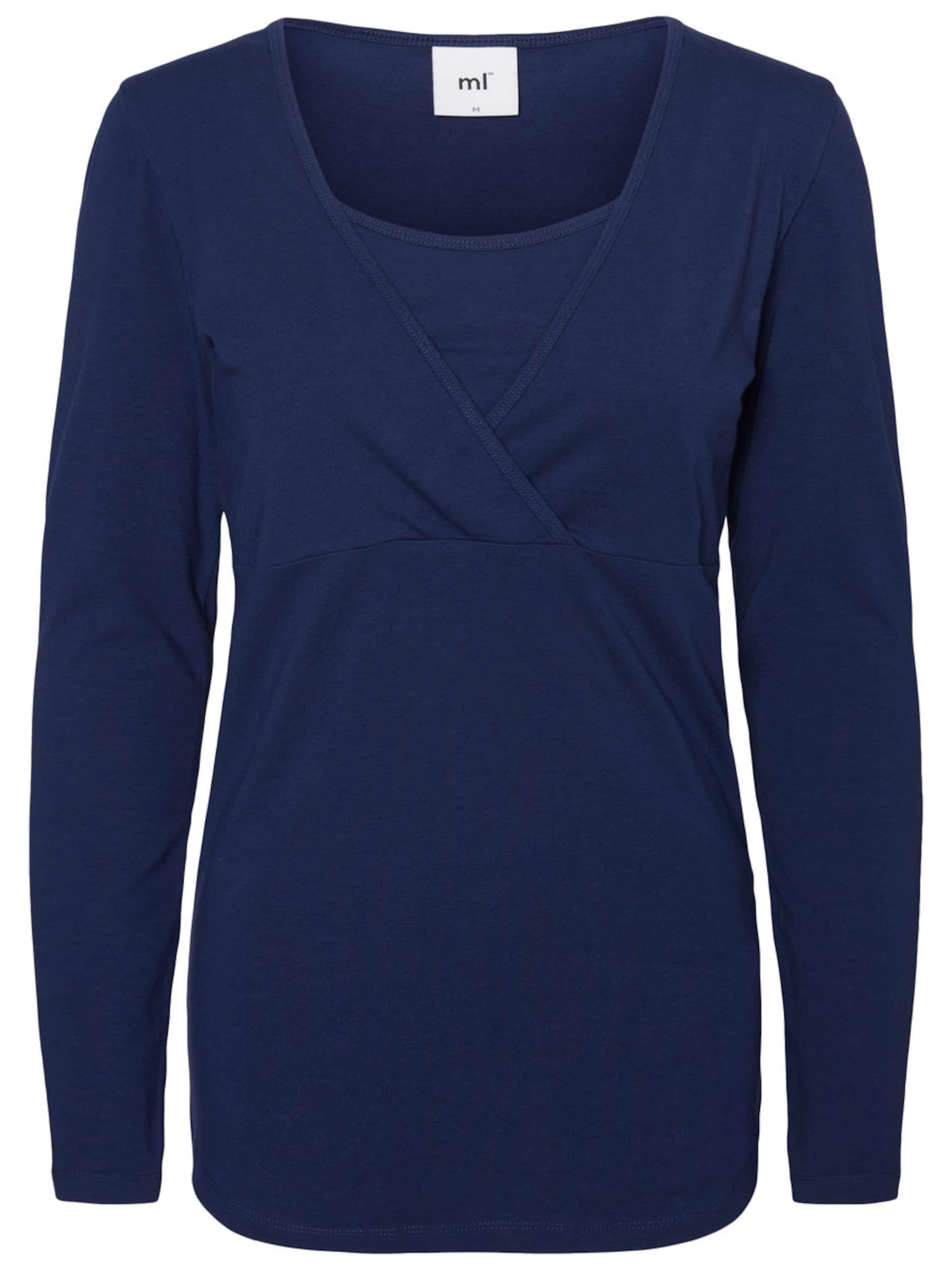 MAMALICIOUS Still-Bluse mit langen Ärmeln Jersey- Günstig Kaufen Spielraum Store Günstig Kaufen Amazon fKQAR8