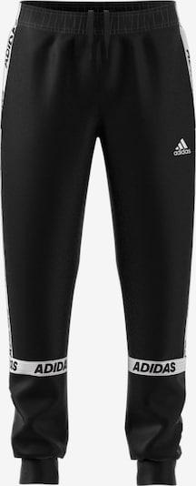ADIDAS PERFORMANCE Jogginghose 'YB SID BR' in schwarz / weiß, Produktansicht
