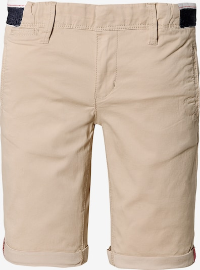 NAME IT Shorts in camel / schwarz / weiß, Produktansicht