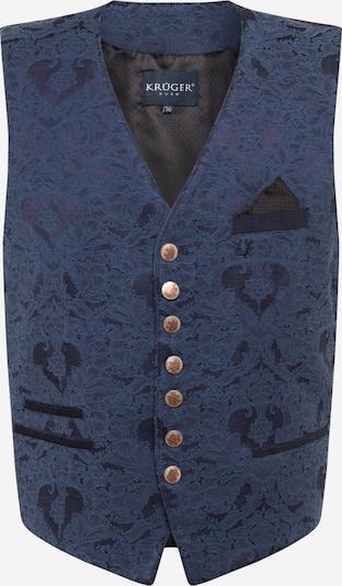 Krüger Madl Bavārijas stila veste pieejami karaliski zils / tumši zils, Preces skats