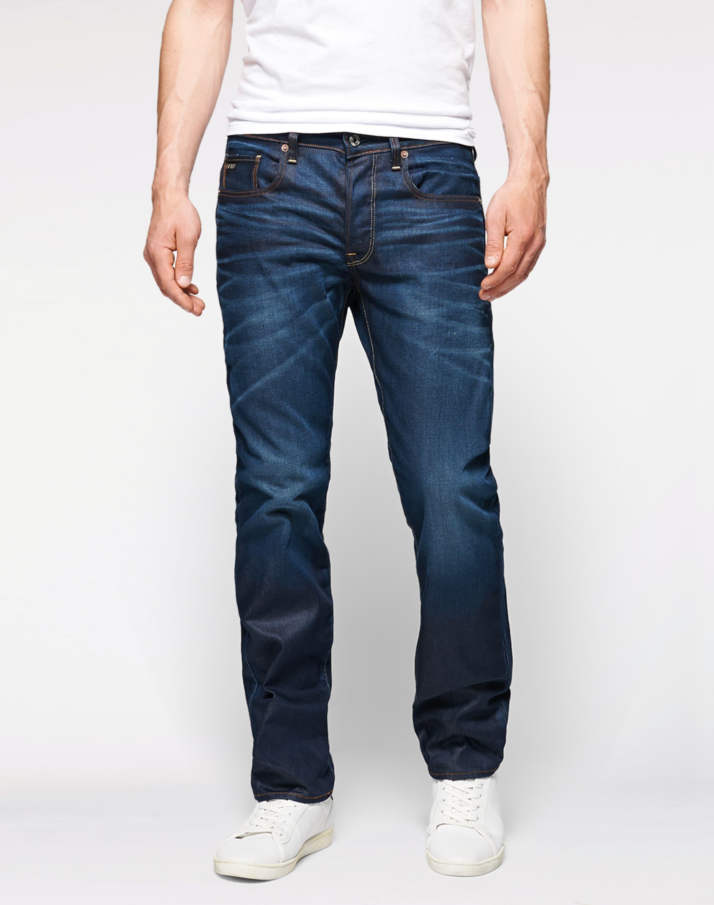 In '3301 Raw Jeans Dunkelblau star Straight' G 4j5Rq3AL
