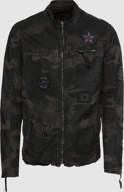 BE EDGY Jacke 'BEtheo_PAT' in schwarz  Bequem und günstig