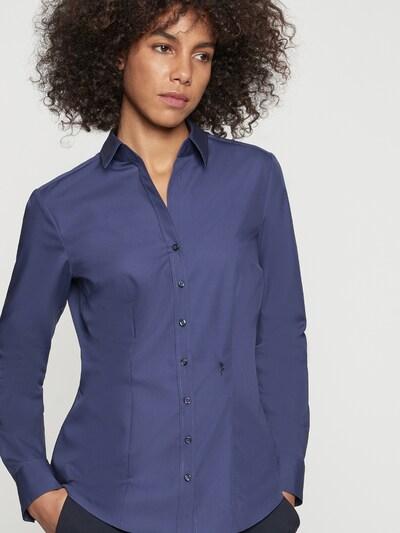SEIDENSTICKER Bluse in dunkelblau, Modelansicht
