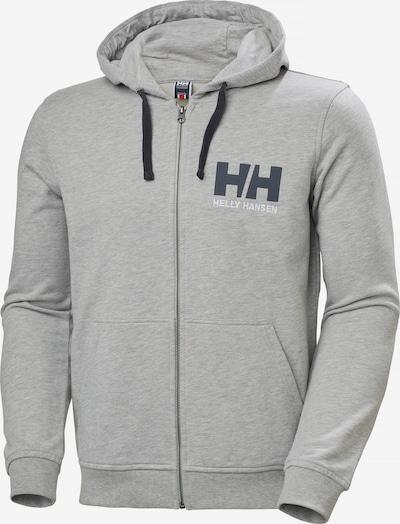 HELLY HANSEN Sweatjacke in grau / schwarz / weiß, Produktansicht