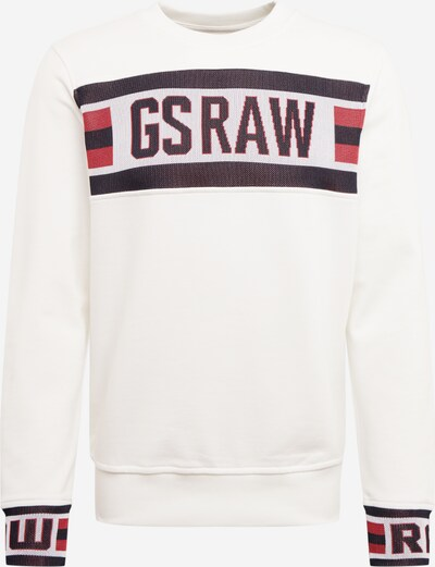 G-Star RAW Sweatshirt in rot / weiß, Produktansicht