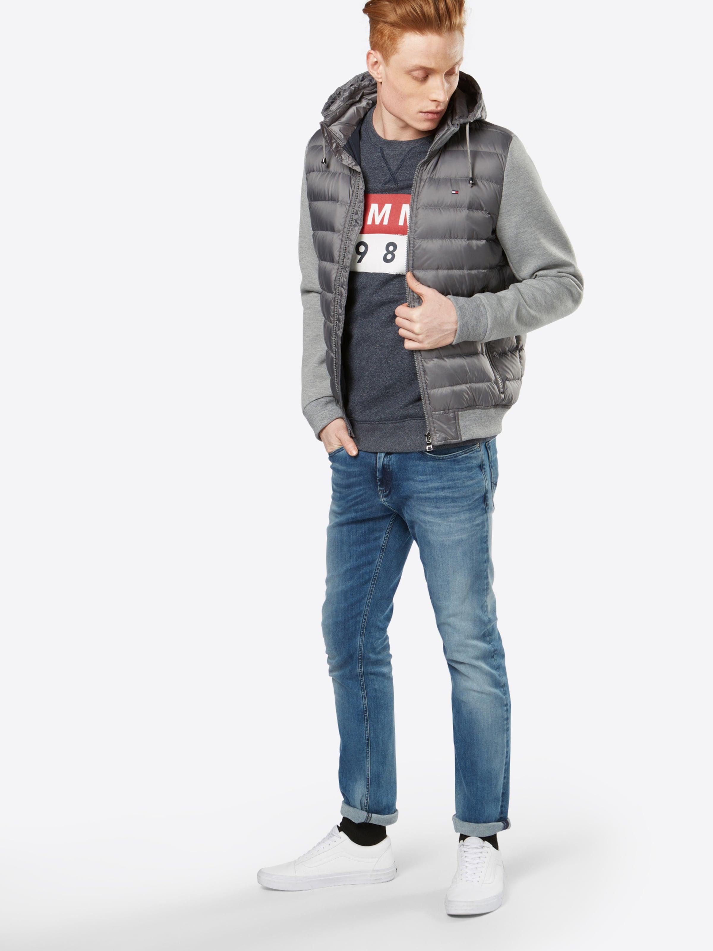 Tommy Jeans Pullover 'TJM BASIC LOGO CN HKNIT L/S 11' Rabatt Browse NAYIP7G34i