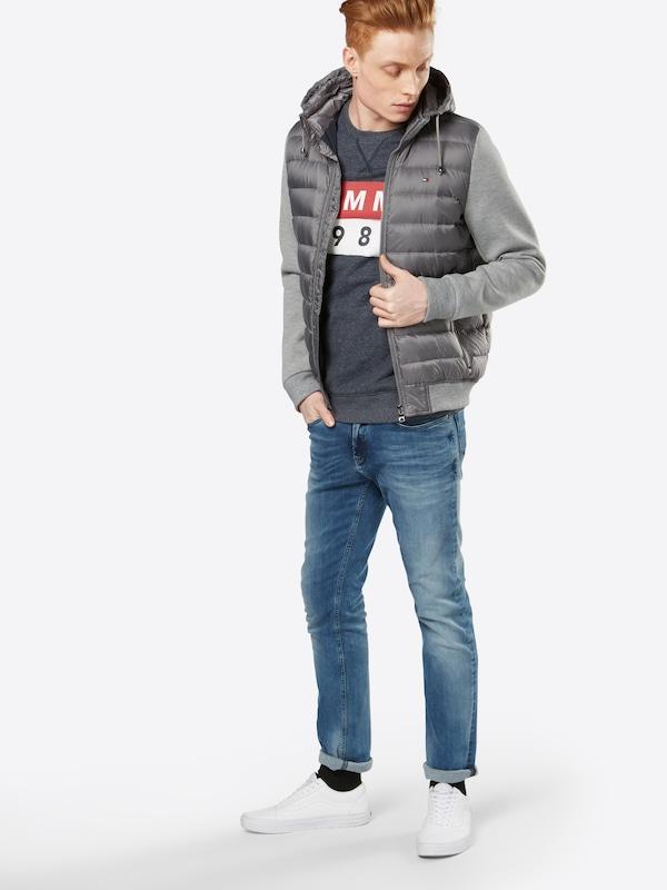 Tommy Jeans Pullover Tjm Basic Logo Cn Hknit L/s 11