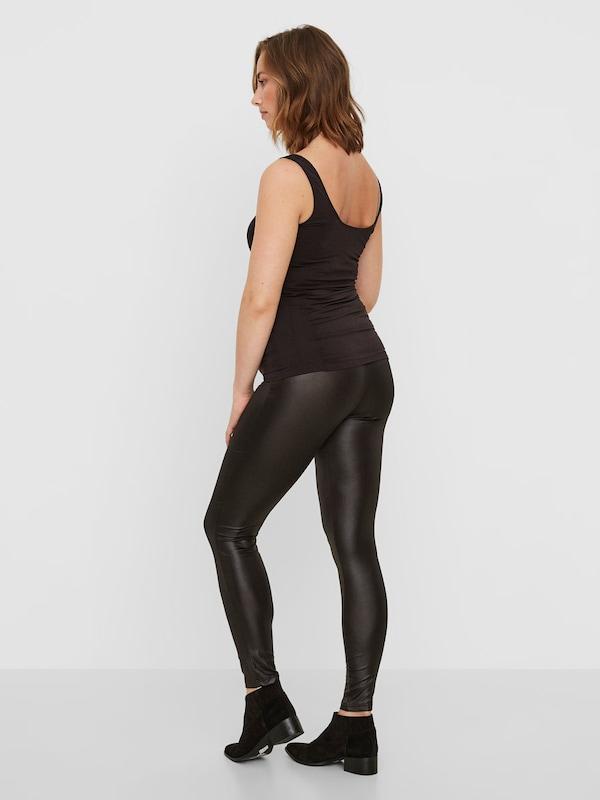 Noir En Leggings Hw Mamalicious 'mlnew Tessa Jersey Leggings' dxBoerCW