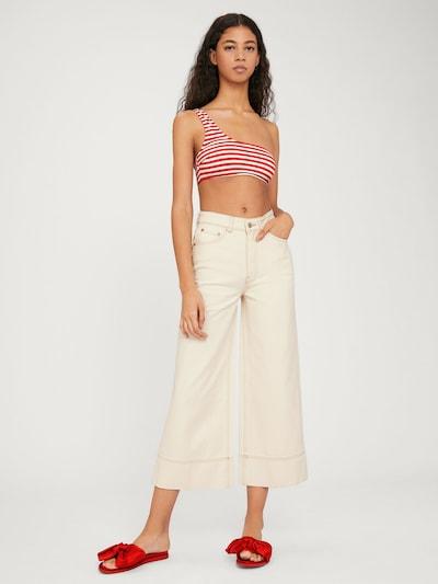EDITED Jeans 'Maddie' in creme, Modelansicht