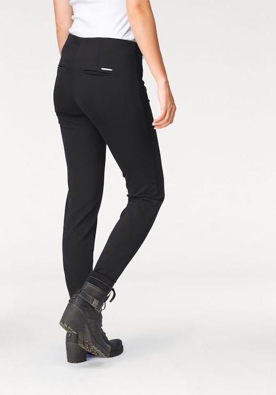 Mac Slim-fit-jeans anna Zip
