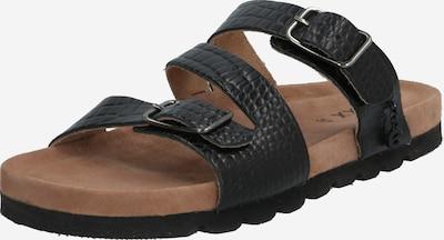 MEXX Pantofle 'Elmira' - černá: Pohled zepředu