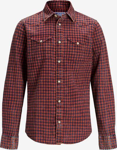 Jack & Jones Junior Hemd in rot, Produktansicht