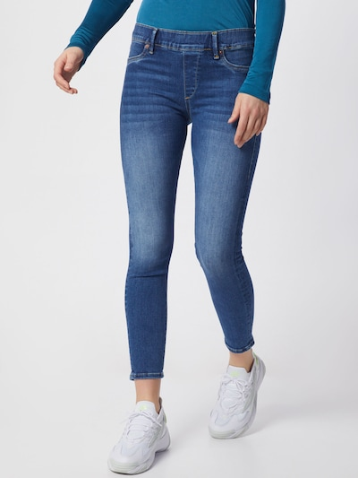 True Religion Jeggings in blue denim, Modelansicht