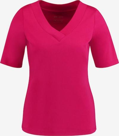 GERRY WEBER T-Shirt 1/2 Arm 1/2 Arm Shirt mit V-Ausschnitt organic cotton in pink, Produktansicht
