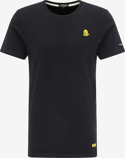 Schmuddelwedda Shirt in de kleur Geel / Zwart, Productweergave