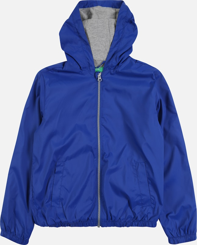 UNITED COLORS OF BENETTON Jacke in blau, Produktansicht