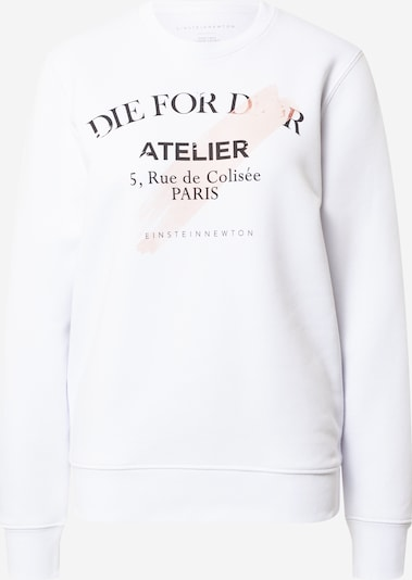 EINSTEIN & NEWTON Sweatshirt 'Rose Atelier' in Pastel pink / Black / White, Item view