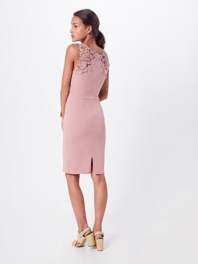 WAL G. Sukienka koktajlowa w kolorze różowy pudrowym: Widok od tyłu