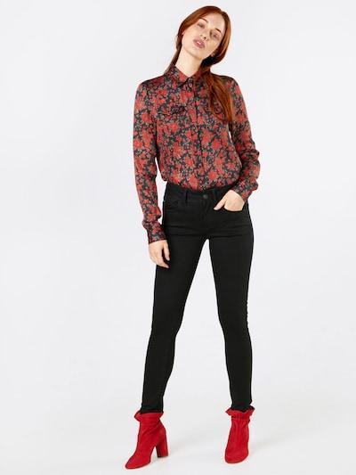 G-Star RAW Jeans 'Lynn d-Mid Super Skinny' in black denim, Modelansicht