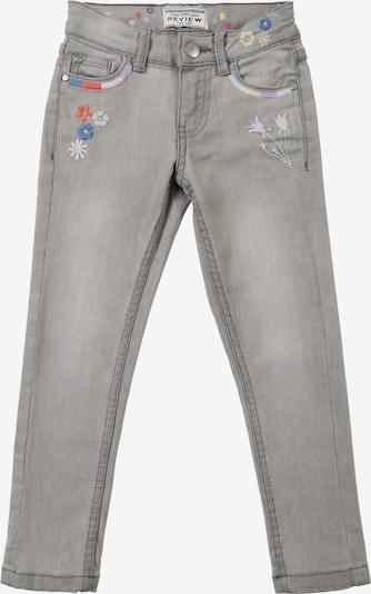 REVIEW FOR KIDS Jeans in de kleur Lichtgrijs, Productweergave