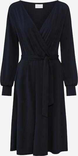VILA Robe 'BORNEO' en noir: Vue de face