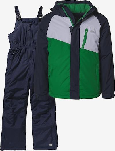 TRESPASS Skianzug 'CRAWLEY' 2-teilig für Mädchen in blau / grün, Produktansicht