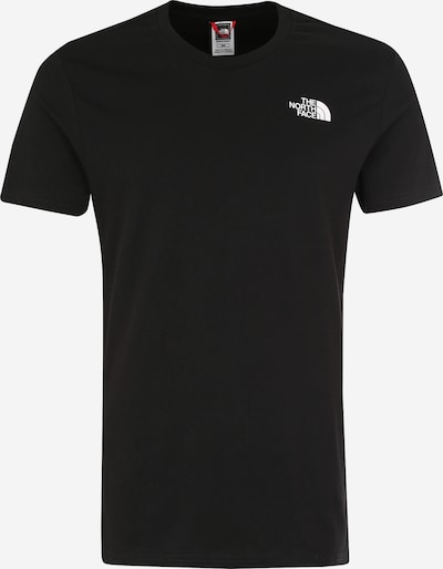 THE NORTH FACE T-Shirt 'Simple Dome' in schwarz / weiß, Produktansicht