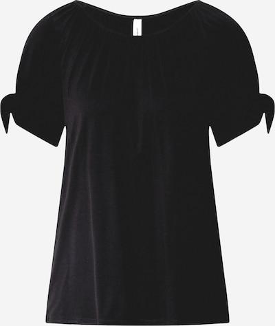 Soyaconcept Blúzka 'Marica 102' - čierna: Pohľad spredu