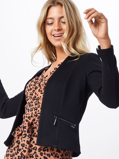 TOM TAILOR DENIM Blazer in schwarz, Modelansicht