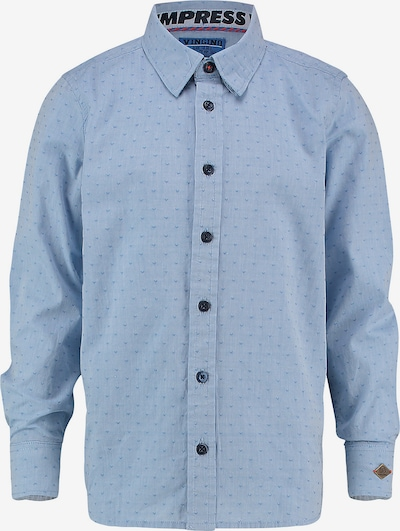 VINGINO Hemd 'Lucero' in rauchblau / royalblau, Produktansicht