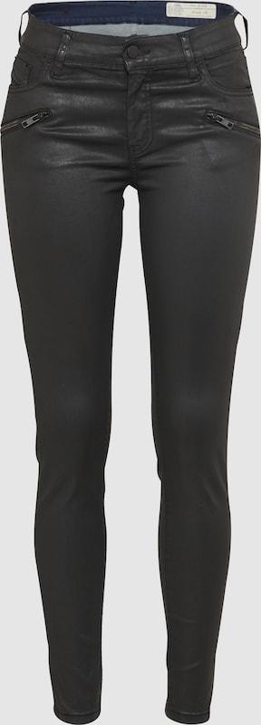 DIESEL 'SLANDY-BK' Slimfit Jeans  0662E in schwarz  Neuer Aktionsrabatt