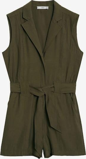 MANGO Jumpsuit 'Bowie' in khaki, Produktansicht
