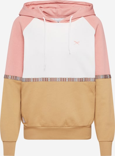Megztinis be užsegimo 'Kachina' iš Iriedaily , spalva - smėlio / rožių spalva / balta, Prekių apžvalga