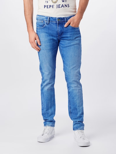 Pepe Jeans Jeans 'Hatch' in blue denim, Modelansicht