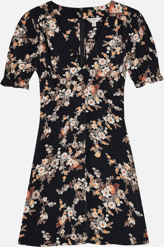 Miss Selfridge Kleid 'DITSY TEA DRESS' in mischfarben / schwarz, Produktansicht