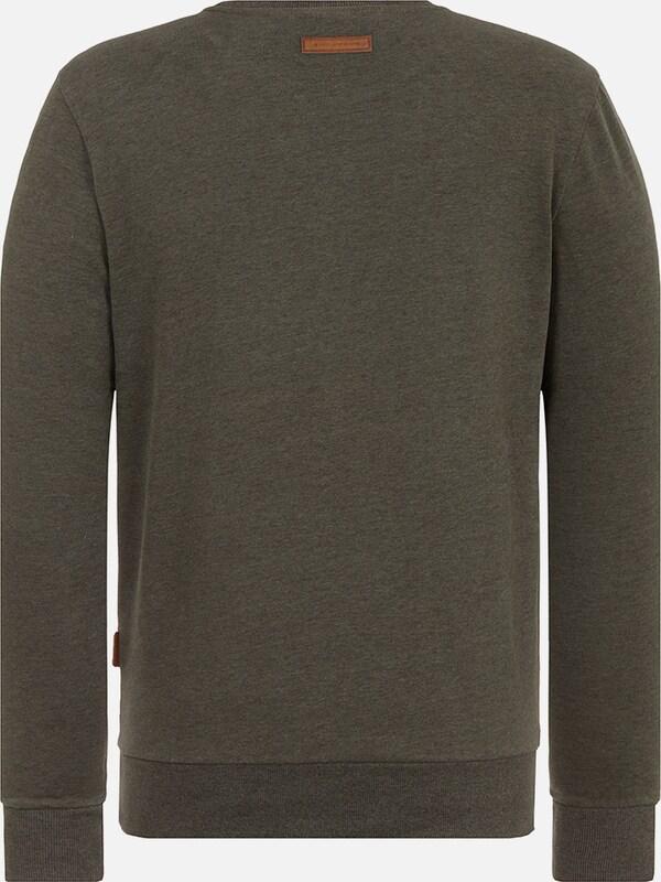 naketano Male Sweatshirt Ich hab Augenbart
