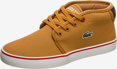 LACOSTE Sneaker 'Ampthill Thermo 419 1' in cognac / rot / schwarz, Produktansicht
