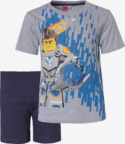 LEGO Schlafanzug in navy / grau, Produktansicht