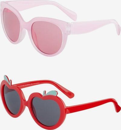 NAME IT Lunettes de soleil en rose / rouge, Vue avec produit
