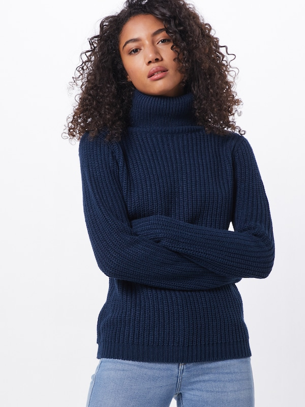Rut & Circle Pullover 'TINELLE' in navy, Modelansicht
