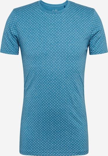 Q/S designed by T-Shirt in himmelblau / weiß, Produktansicht