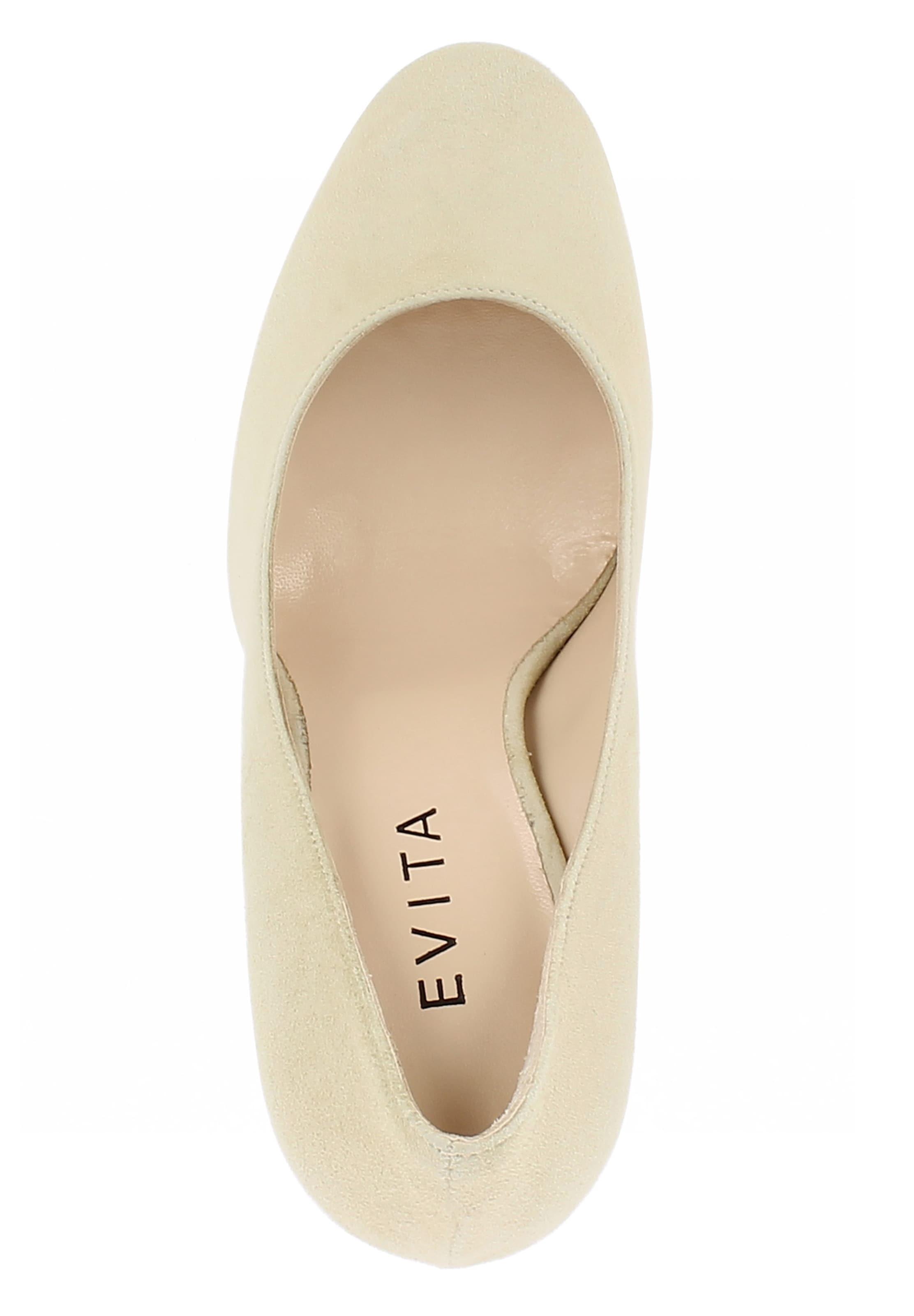 Beige Evita Escarpins Evita Beige 'cristina' Evita 'cristina' En En Escarpins H29eYIEWD
