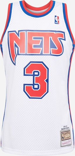 Mitchell & Ness Shirt 'NBA  NJ NETS 1992-93 D. PETROVIC' in de kleur Blauw / Rood / Wit, Productweergave