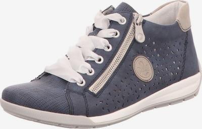 RIEKER Sneakers in dunkelblau / weiß, Produktansicht
