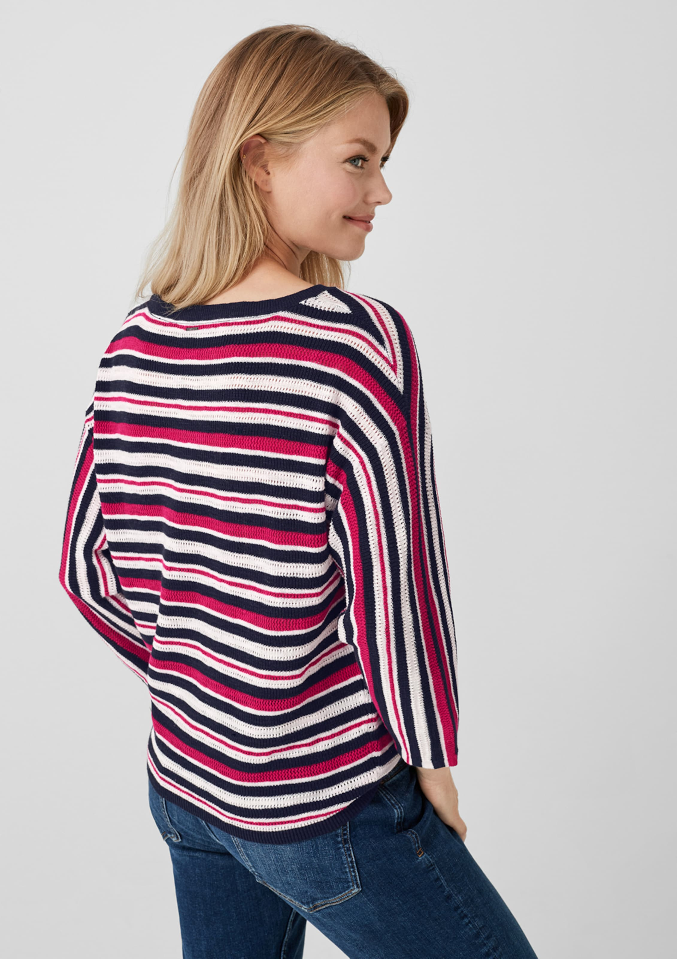 Pullover S oliver oliver BlauRot S S Pullover In BlauRot oliver In N8nO0wvm