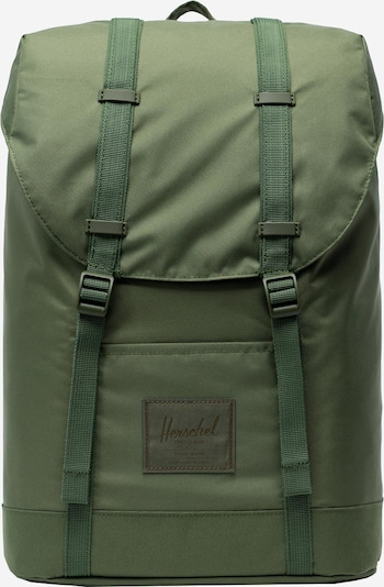 Herschel Rucksack 'Retreat Light' in oliv, Produktansicht