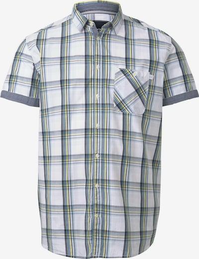 TOM TAILOR Men Plus Hemd in gelb / oliv / weiß, Produktansicht
