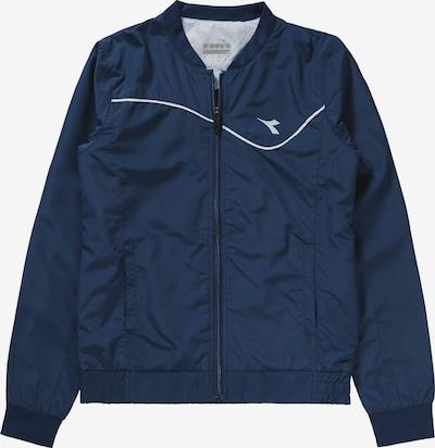 Diadora Jacke in dunkelblau, Produktansicht